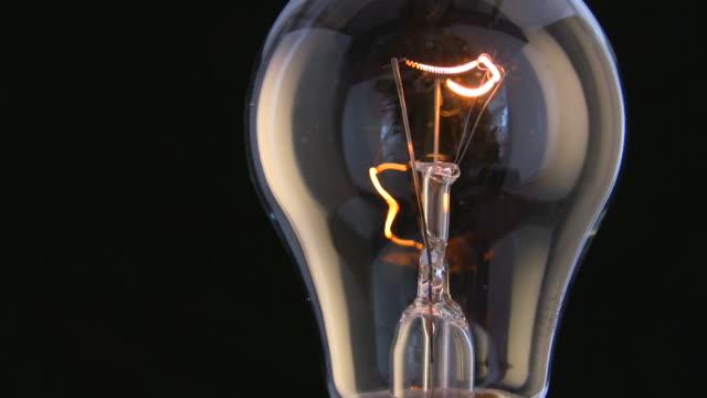 flickering lightbulb