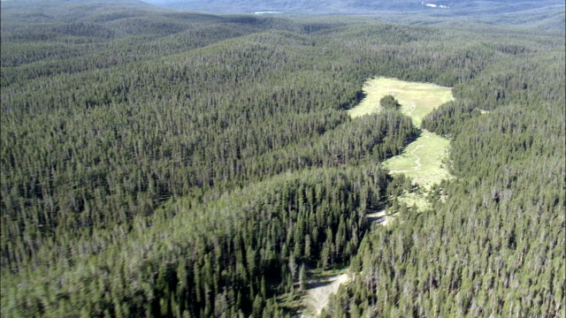Flight Across the Central Plateau  - Aerial View - Wyoming,  Teton County,  helicopter filming,  aerial video,  cineflex,  establishing shot,  United States video