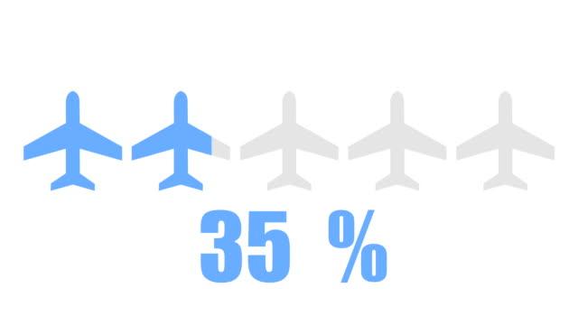 Flight and travel inforgraphic design element