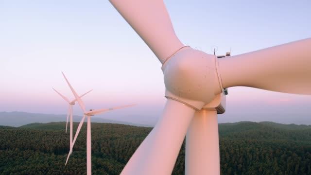 Flight close to a Windmill
