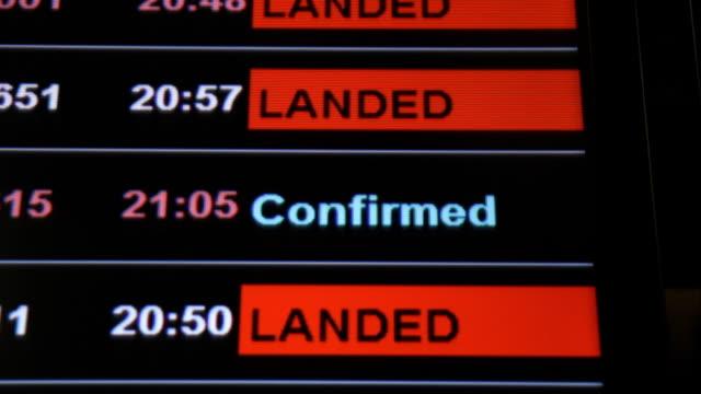 Flight confirmed