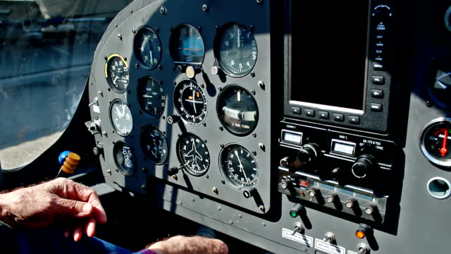 Flight deck video