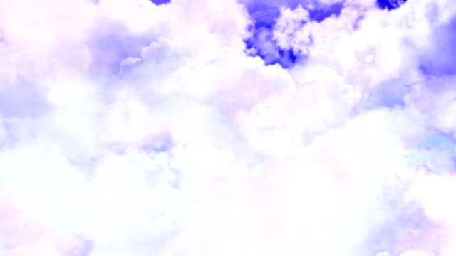 Flight Through Clouds video