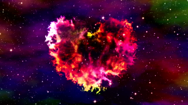 Flight Through Nebula Heart video
