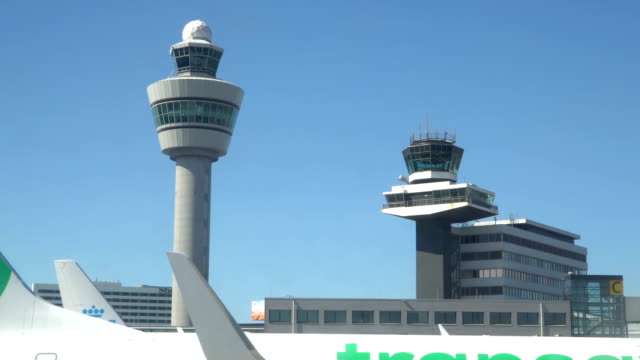 Flüge Management Luft Kontrollturm und Passagier-terminal – Video