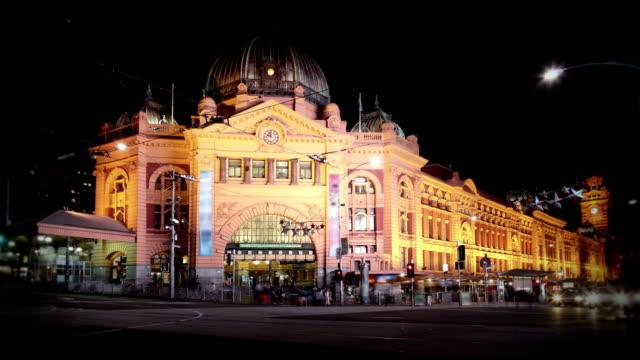 Flinders Street Station, Melbourne video