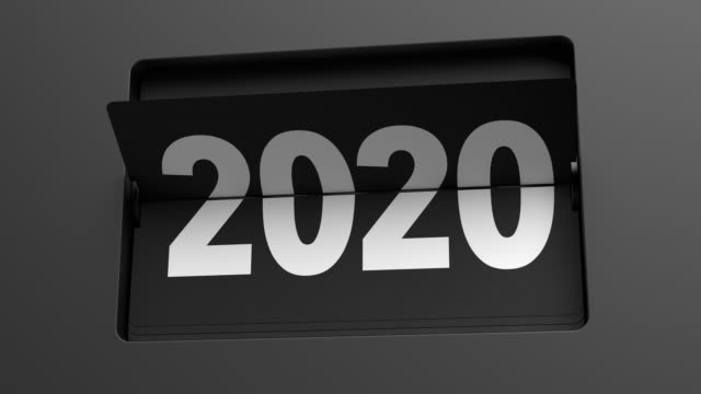2020 - 2021. Flip clock turning slowly from year 2020 to 2021 2020 - 2021. A flip clock calendar turns slowly from year 2020 to 2021. New Year / turn of the year concept. Ultra slow motion. High quality 3d animation. happy new year 2021 stock videos & royalty-free footage