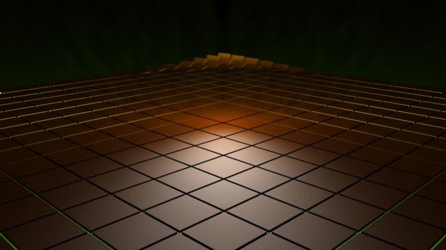 Flipping 3d Tiles HD video