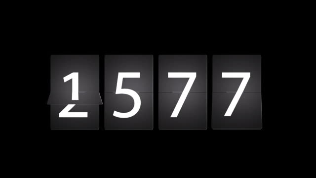 Flipping Numbers Show 2013 New Year video