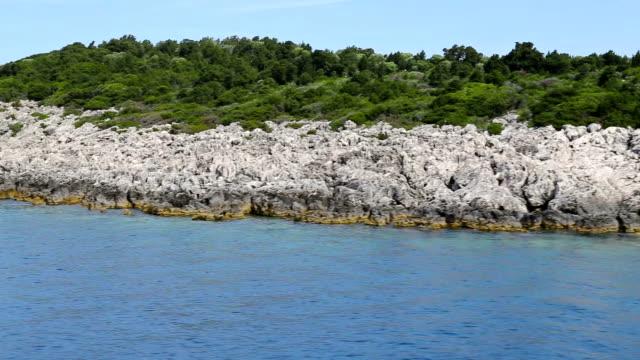 Float near tropical island video