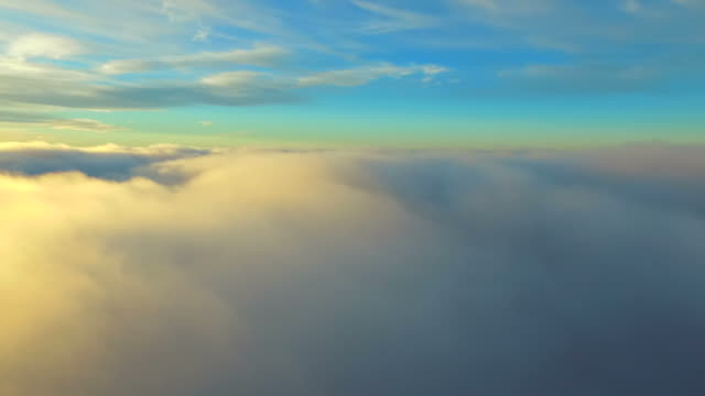 Floating above the clouds video