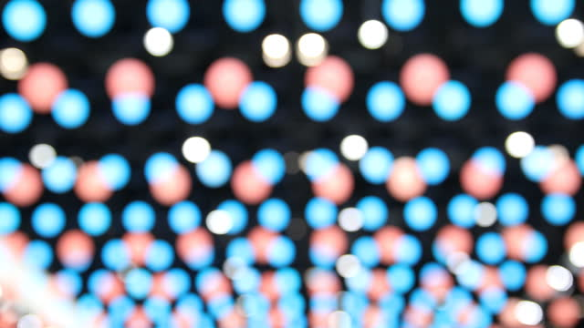 Floating Colored Spots Background