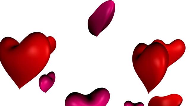 Flotante de corazones - vídeo
