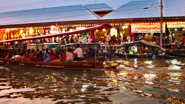 floating market bangkok video