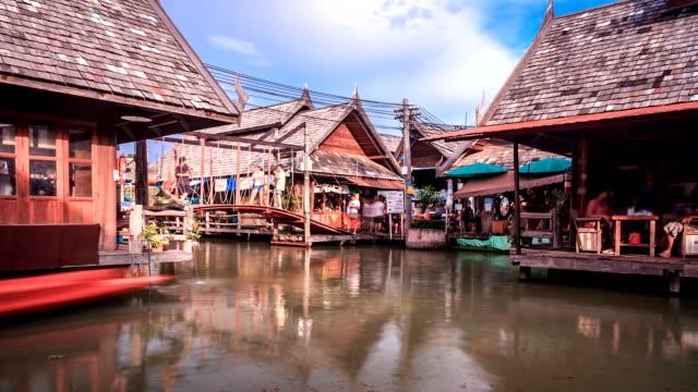 floating market time lapse - pattaya bildbanksvideor och videomaterial från bakom kulisserna