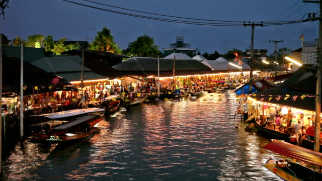 Floating market video