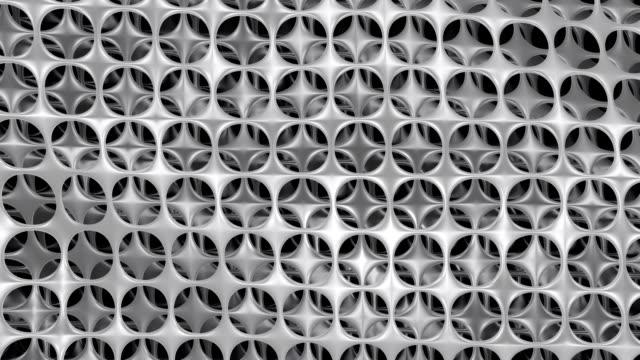 floating nanomaterial con tanti strati. - lega metallica video stock e b–roll