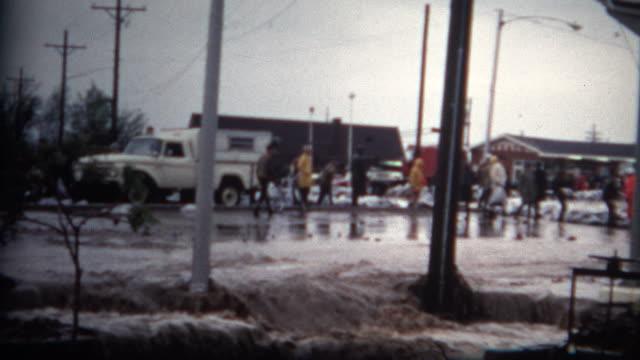 (8mm Film) Flood Damage Colorado 1968 video