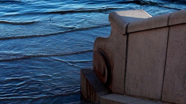 vídeos y material grabado en eventos de stock de inundación en venecia - marea