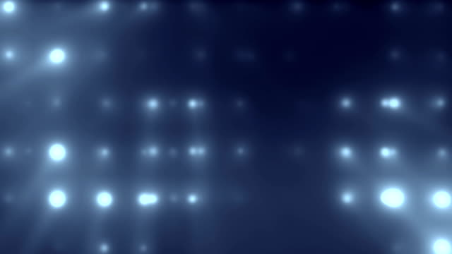 Flood Lights Blue Loopable Background video