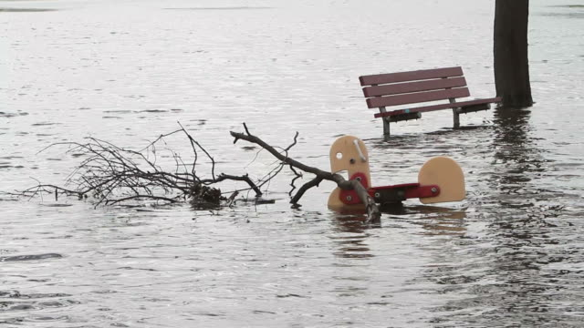 Flooding after Hurricane Sandy video
