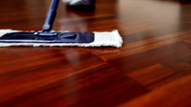 Floor cleaning video
