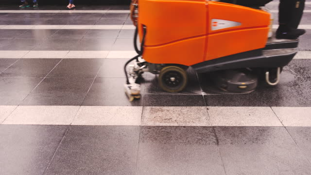 Floor Scrubber Machine video
