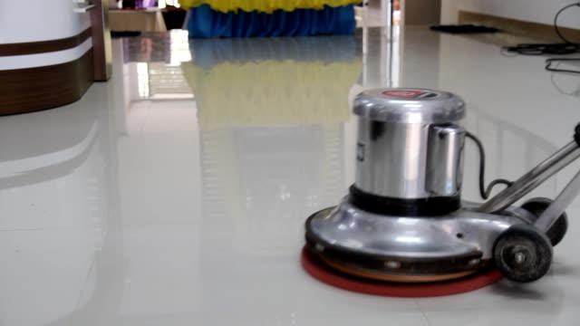 Floor Scrubber video