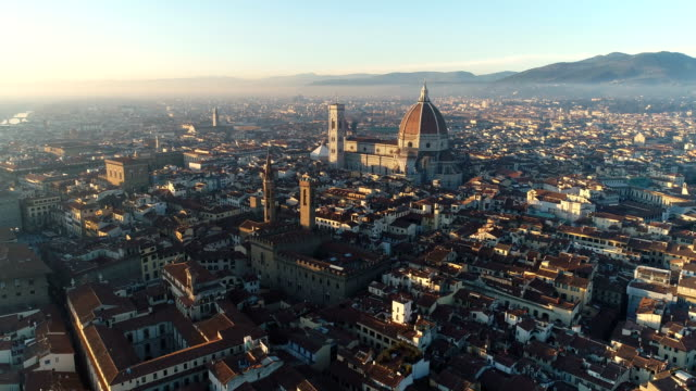 Florence | ITA | Aerial Cityscape 4K video