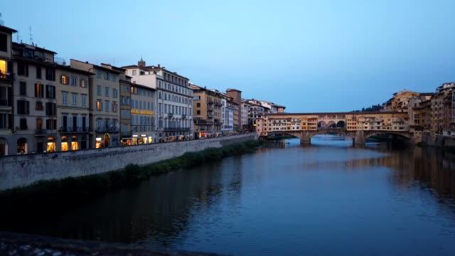 Florence Italy Dusk Motionlapse