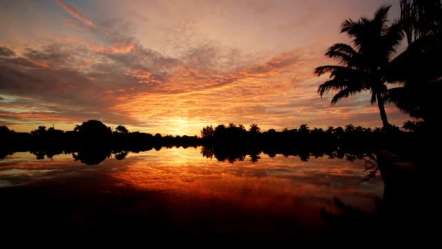 Florida beautiful sunrise video