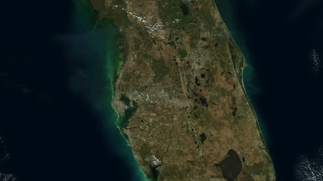 Florida USA From Space video