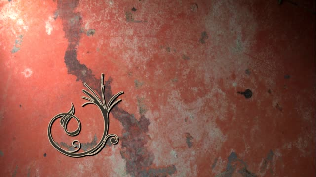 Flourish #07 Flourish wrought iron stock videos & royalty-free footage