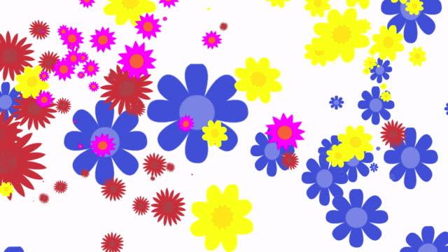 Flower Explosion Background video