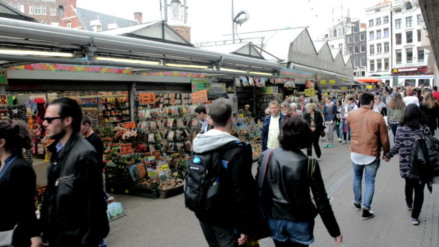 Flower Market, Amsterdam video