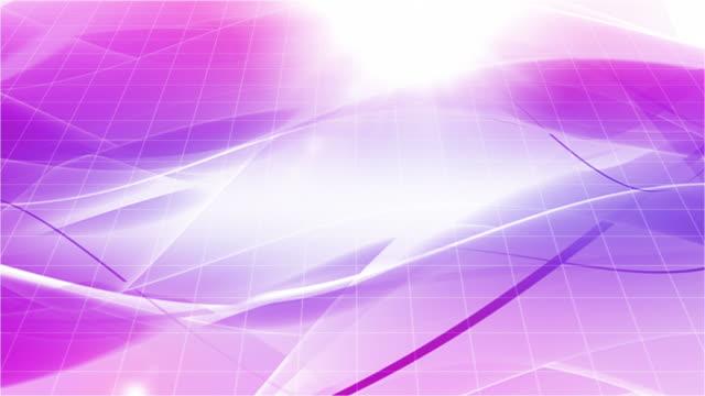 流れるモダンな波背景ループウォッシュ加工ホッコクパープル(hd - キラキラ 白背景点の映像素材/bロール
