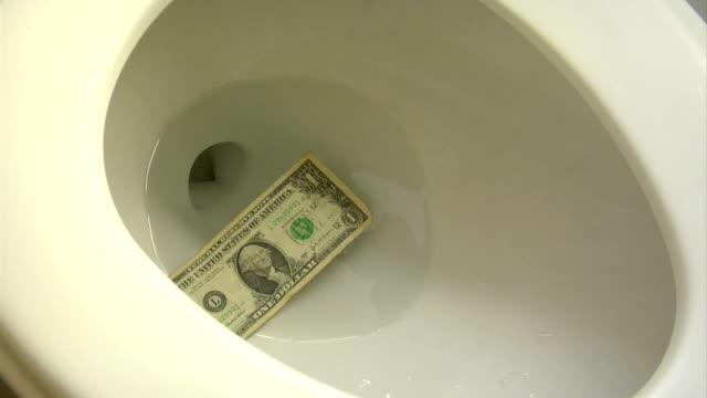 Flush a dollar video