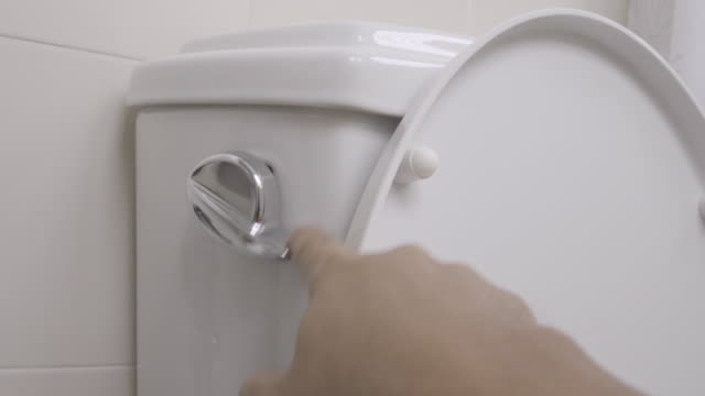 Flushing Toilet 4K More variation in this series. household fixture stock videos & royalty-free footage