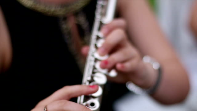 Flute playing video