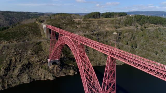 Fly close to Garabit viaduct