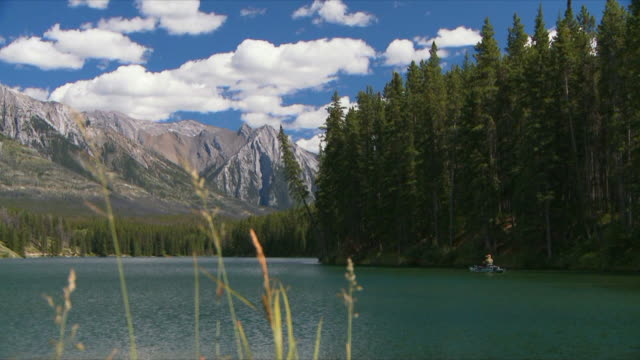 Fly fishing in the mountains video