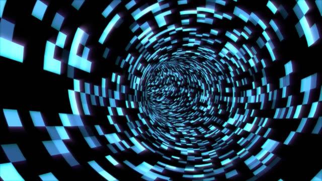 flyga i digital tunnel i cyberrymden krypterad nätverksinformation-4k sömlös loop motion bakgrund animation - vpn bildbanksvideor och videomaterial från bakom kulisserna