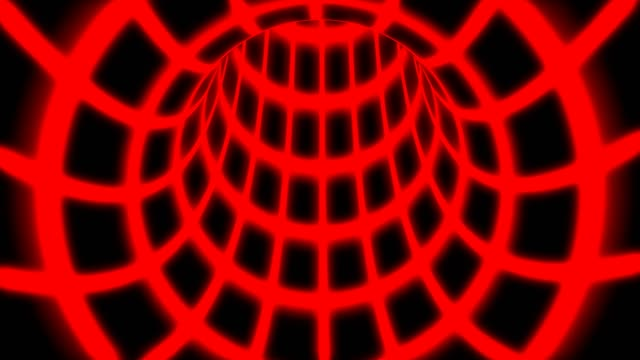 flyga inuti röd digital tunnel grid i ansluten säker datornätverk-4k sömlös loop motion bakgrund animation - vpn bildbanksvideor och videomaterial från bakom kulisserna