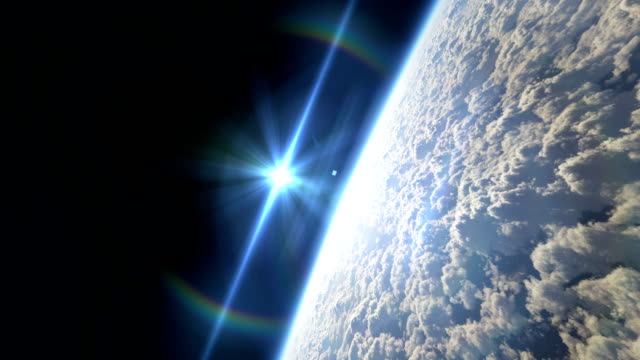 fly over planet video
