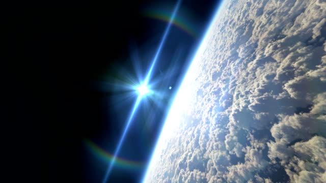 latać nad planeta - układ słoneczny filmów i materiałów b-roll