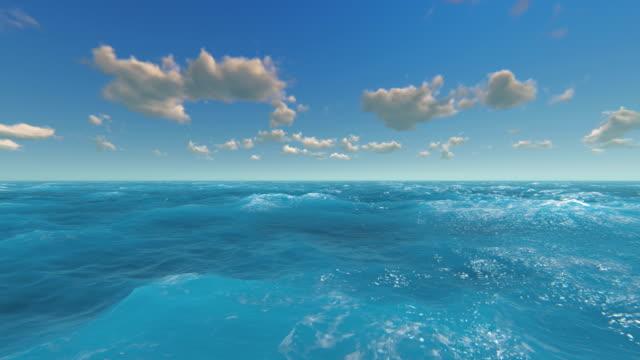 fly over sea - в стиле минимализма стоковые видео и кадры b-roll