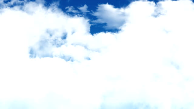 Fly Up Through Puffy Clouds video