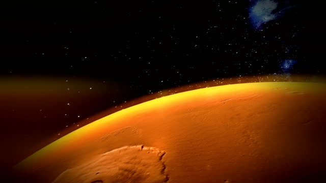 Flyby of the Red Planet - occupy Mars