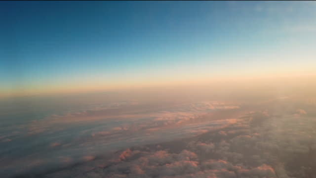 Flying Above the Cloud Sky Flying Above the Cloud Sky horizon over land stock videos & royalty-free footage