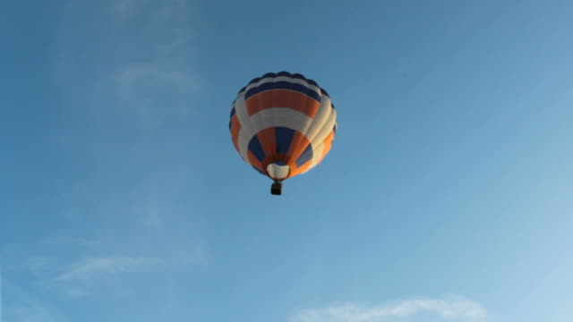 Flying air balloon video